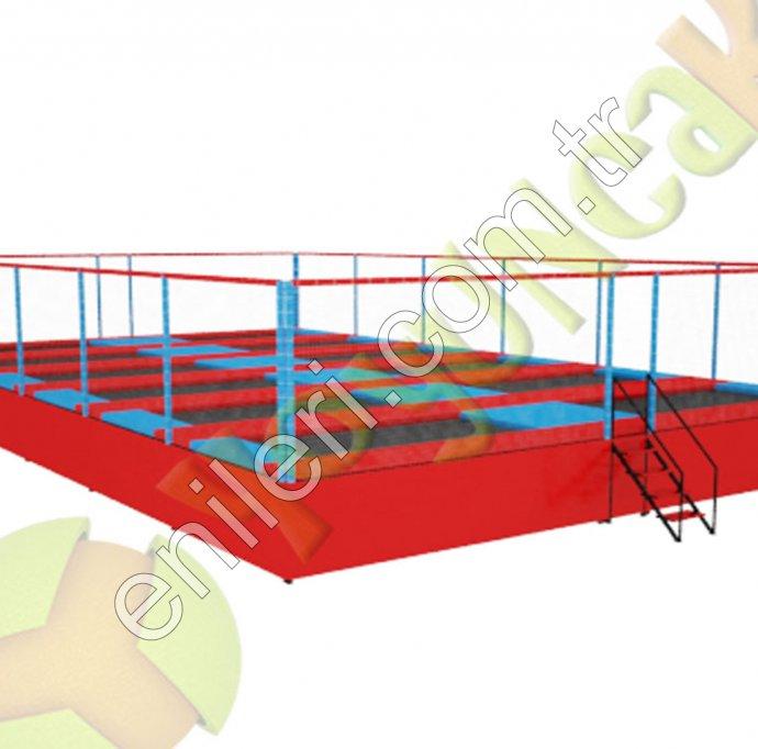Trambolin Olimpik 12 li Model