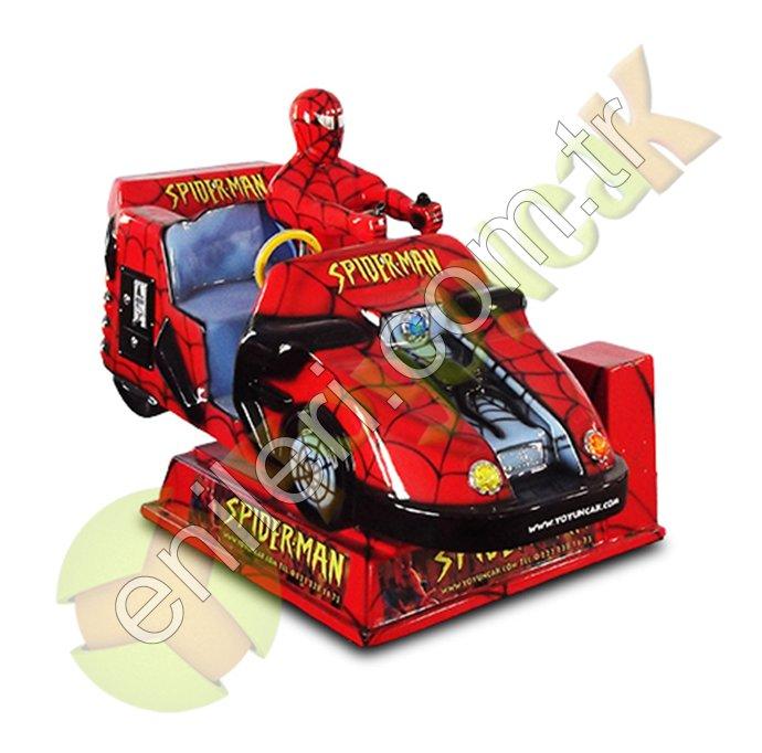 Örümcek Adam Eğlence Makinesi