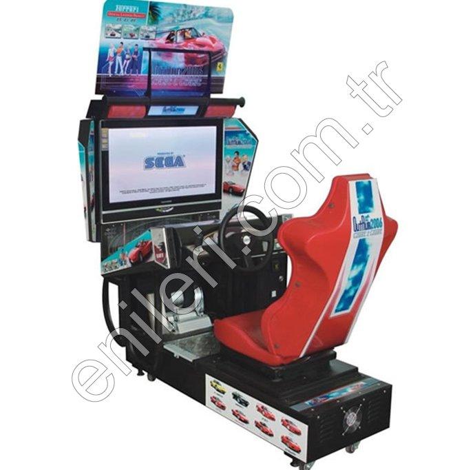 Ekranlı Araba Yarışı - Tekli Model