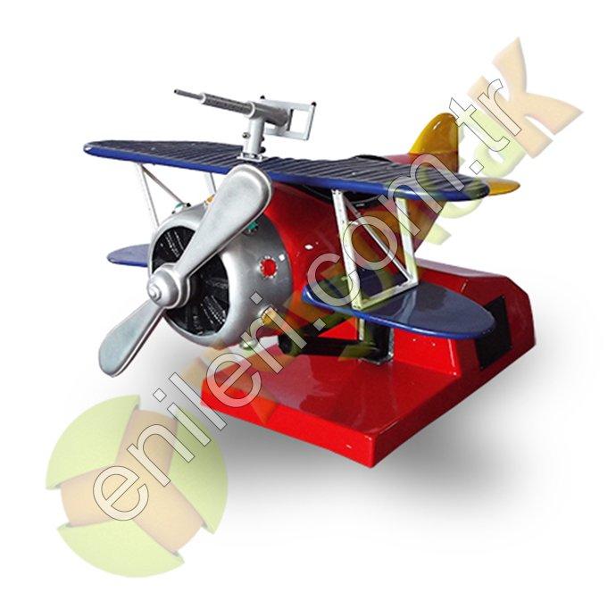 Pervaneli Uçak Eğlence Makinesi