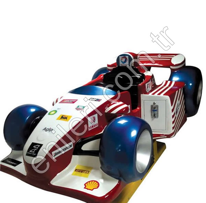 Formula Araba Eğlence Makinesi